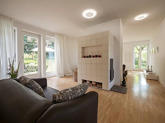Osram Slim Design Luminaria adosada, 20 W, Blanco, 38 x 2.9 cm: Amazon.es: Iluminación