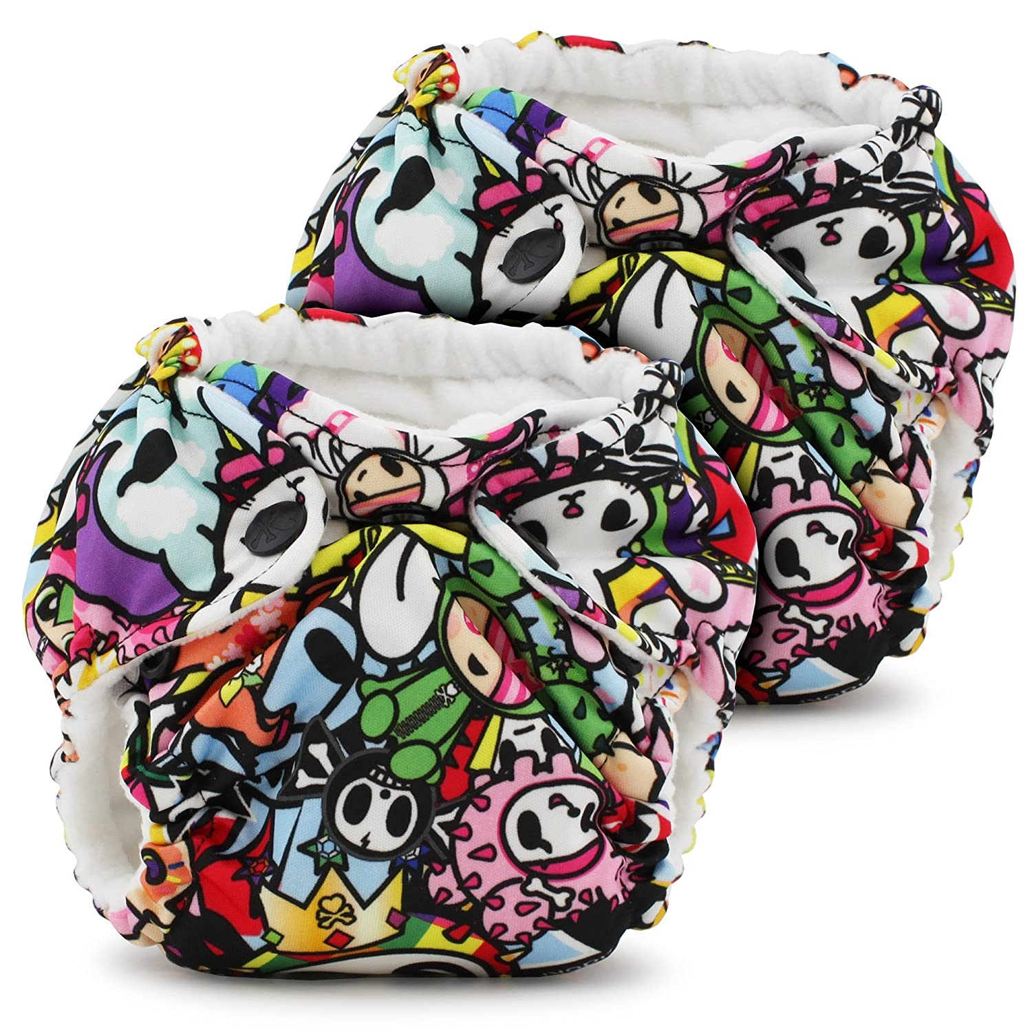 Lil Joey 2 Pack All in One Cloth Diaper, Destiny Kanga Care KRLILJSOS-P118