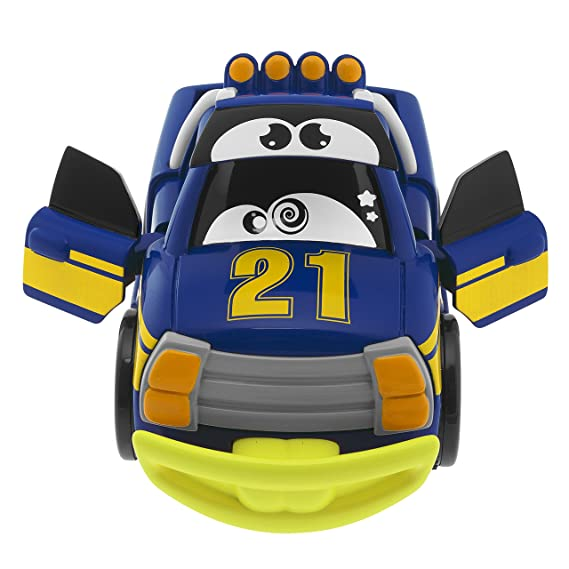 Amazon.com: Chicco Turbo Touch Crash Derby Toy Vehicle, Blue: Toys & Games