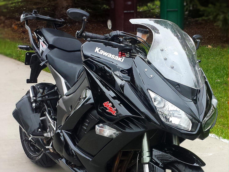 Amazon.com: Mirror Block Plates Kawasaki Ninja Z1000SX 1000 ...