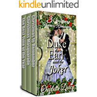 3 Christmas Regency Romances: The Duke, the Earl