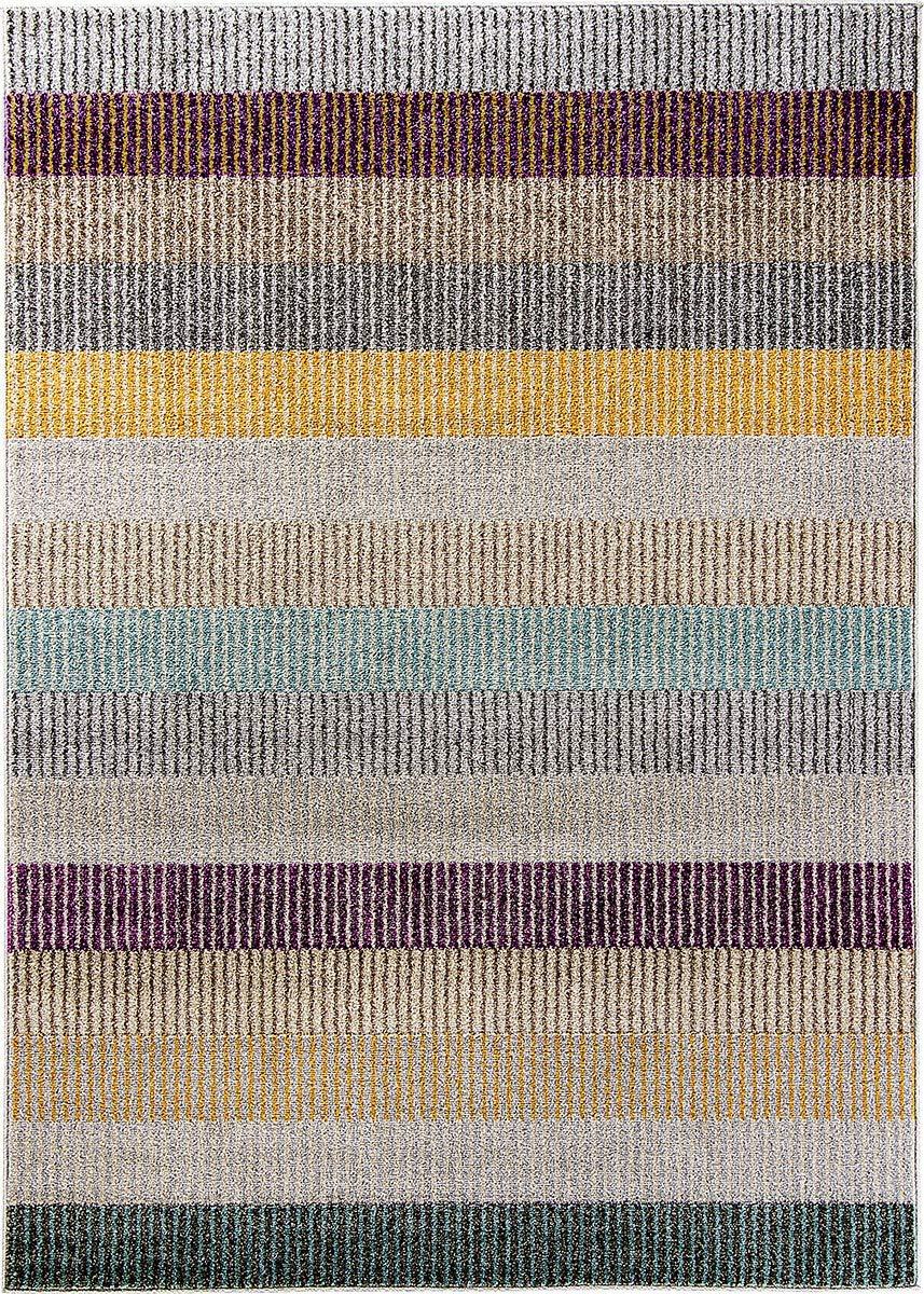 Carpetforyou Designer Moderner Kurzflor Teppich Colour Stripes Bunte Streifen für Wohnzimmer Schlafzimmer Jugendzimmer Kinderzimmer (160 x 230 cm)