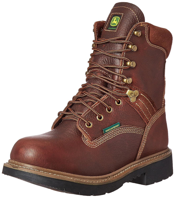 John Deereメンズ8 BRN防水ファーム/ Wrk NST Lu Work Boot ブラウン 11.5 D(M) US 11.5 D(M) USブラウン B01DOJRQW8