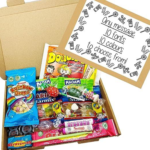 Eventabox - Caja de regalo (tamaño A5, incluye etiqueta personalizable): Amazon.es: Hogar