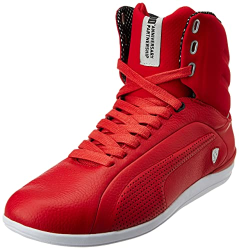 dc3cb636bedf Puma Men s Gigante Mid Leather SF -10- Rosso Corsa Leather Running Shoes -  13UK