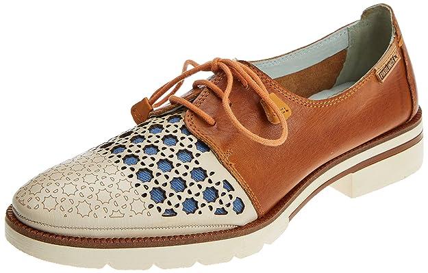 Pikolinos Sitges W7j, Zapatos de Cordones Derby para Mujer: Amazon.es: Zapatos y complementos