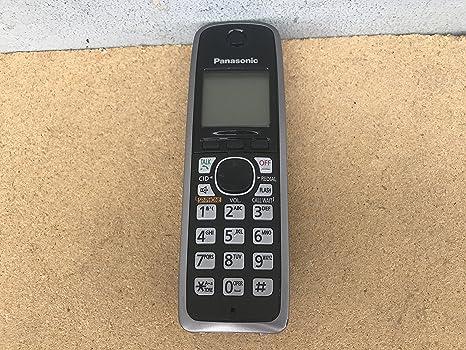 Amazon.com: Panasonic KX-TGA410B Cordless Expansion Handset Phone KX-TGA410: Electronics