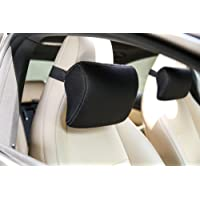 The White Willow Neck Support Car Pillow Cushion for Car Seat