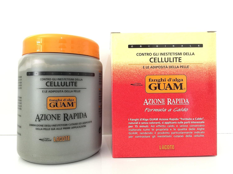 Fanghi D'Alga Azione Rapida Anticellulite 1 Kg GUAM