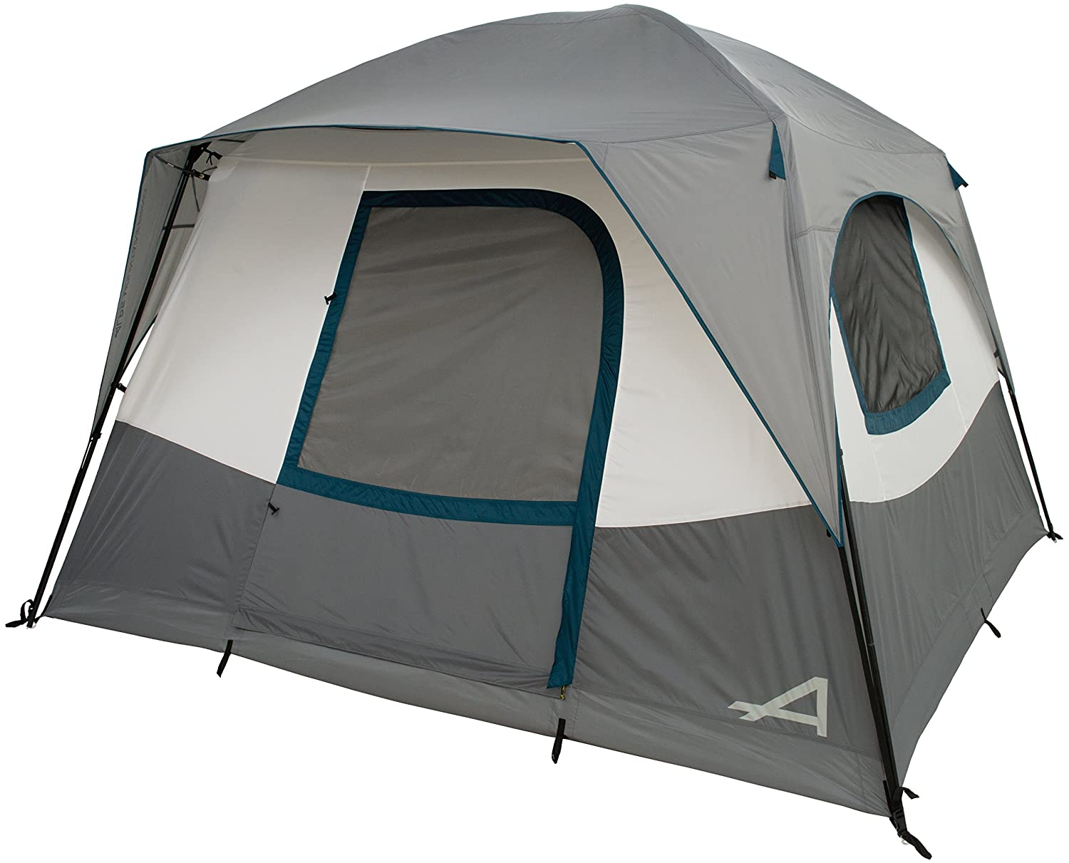 ALPS Mountaineering Camp Creek 6 Person Tent, Charcoal Blue