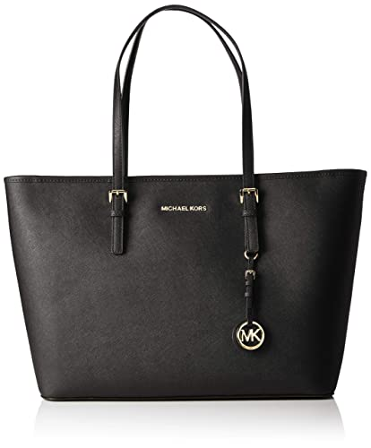 cc38d626b2e83 Michael Kors Jet Set Travel, Borsa Tote Donna, Nero (Black), 12.7x29 ...