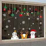 Cabina de Navidad la decoración del hogar de vinilo ventana pegatinas de pared decorativos❤️extraíble