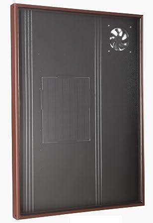 Calentador solar de aire Acondicionador Ventilador de escape Secador Espacio Suelo Calefacción Radiador Panel calentador Deshumidificador