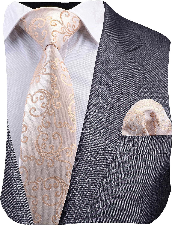 dise/ño de cachemira DiBanGu Broche de corbata de seda para hombre