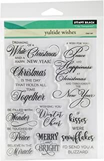 Penny Black Clear Stamp Set 30-381,Festive Cheer
