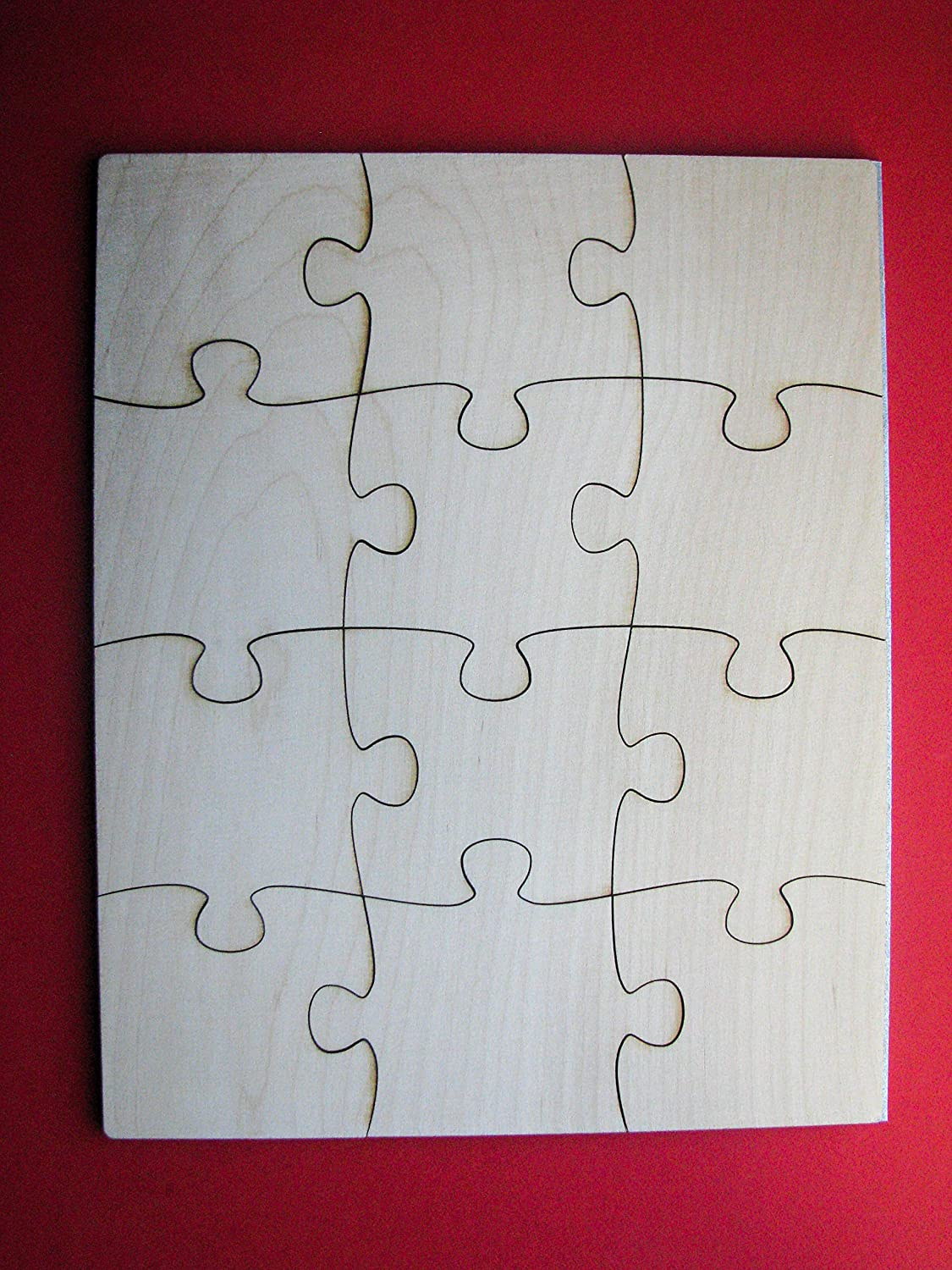 Blank Wooden Jigsaw Puzzle 8x10