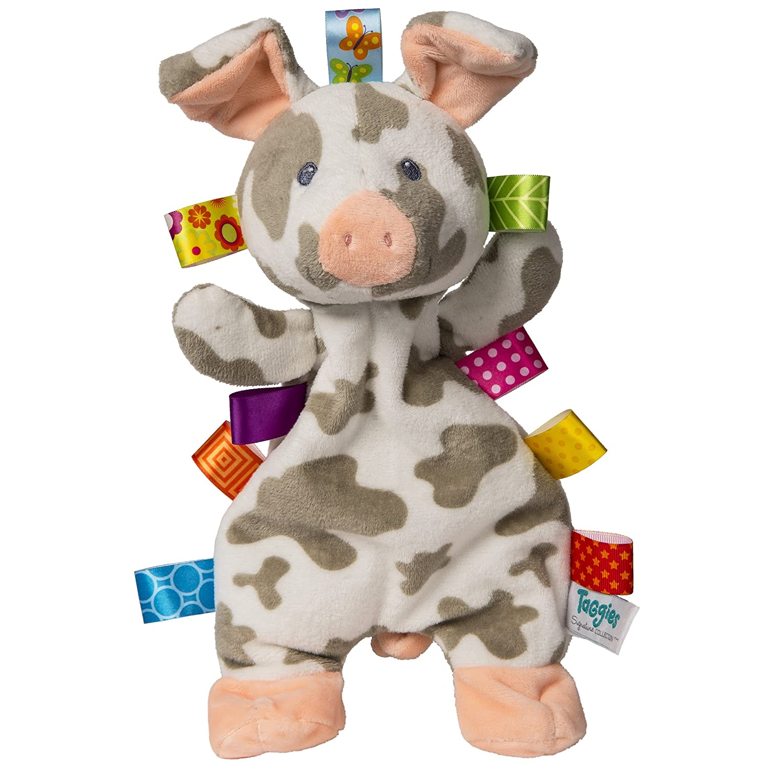 Taggies Patches Pig Lovey Soft Toy Mary Meyer 40037