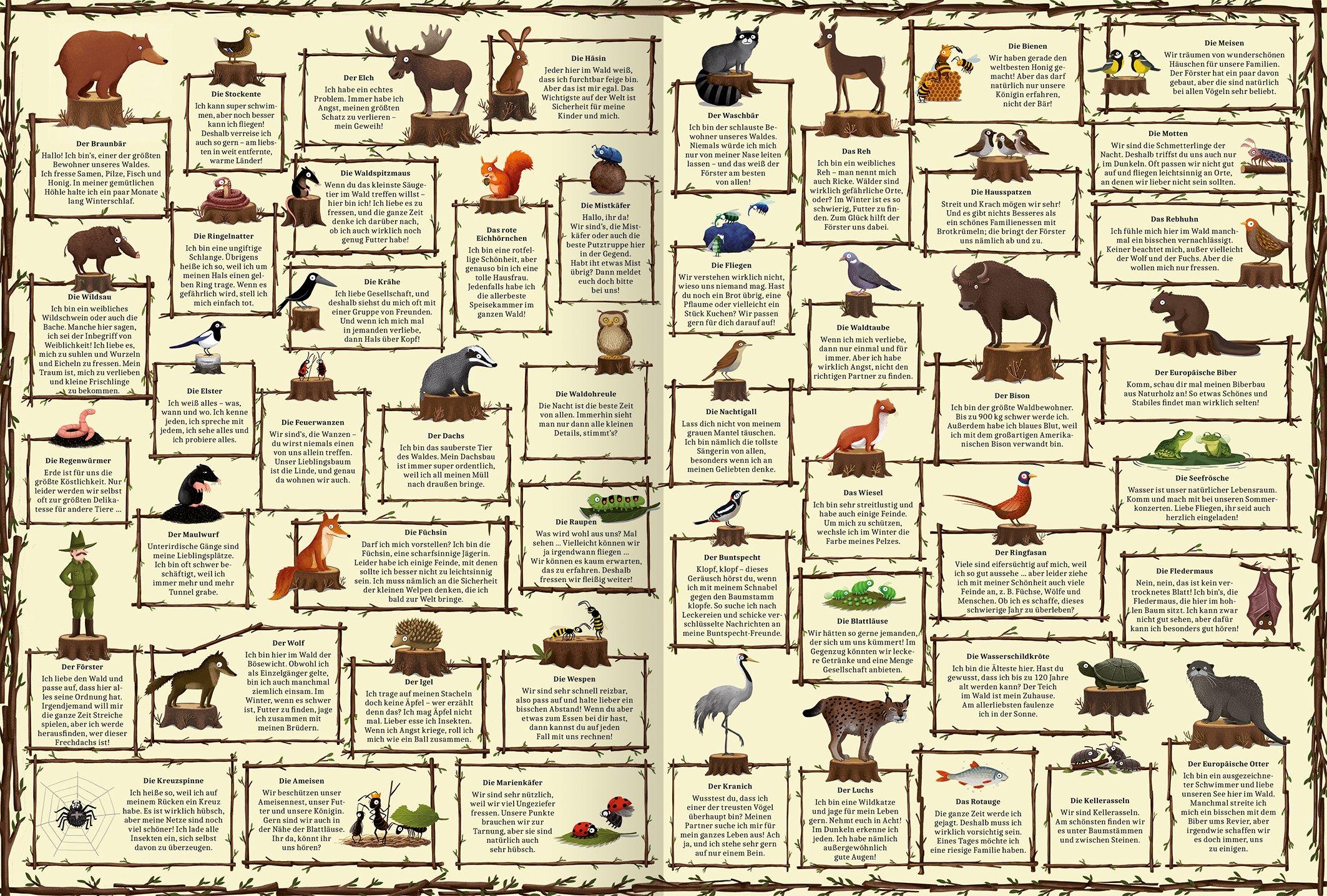 Ein Jahr Im Wald 9783845813240 Amazon Com Books