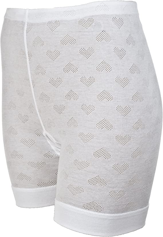 3 Pair Size 7 Beige 100/% Cotton Womens Long Leg Panties USA Made CLOSE OUT $$$$