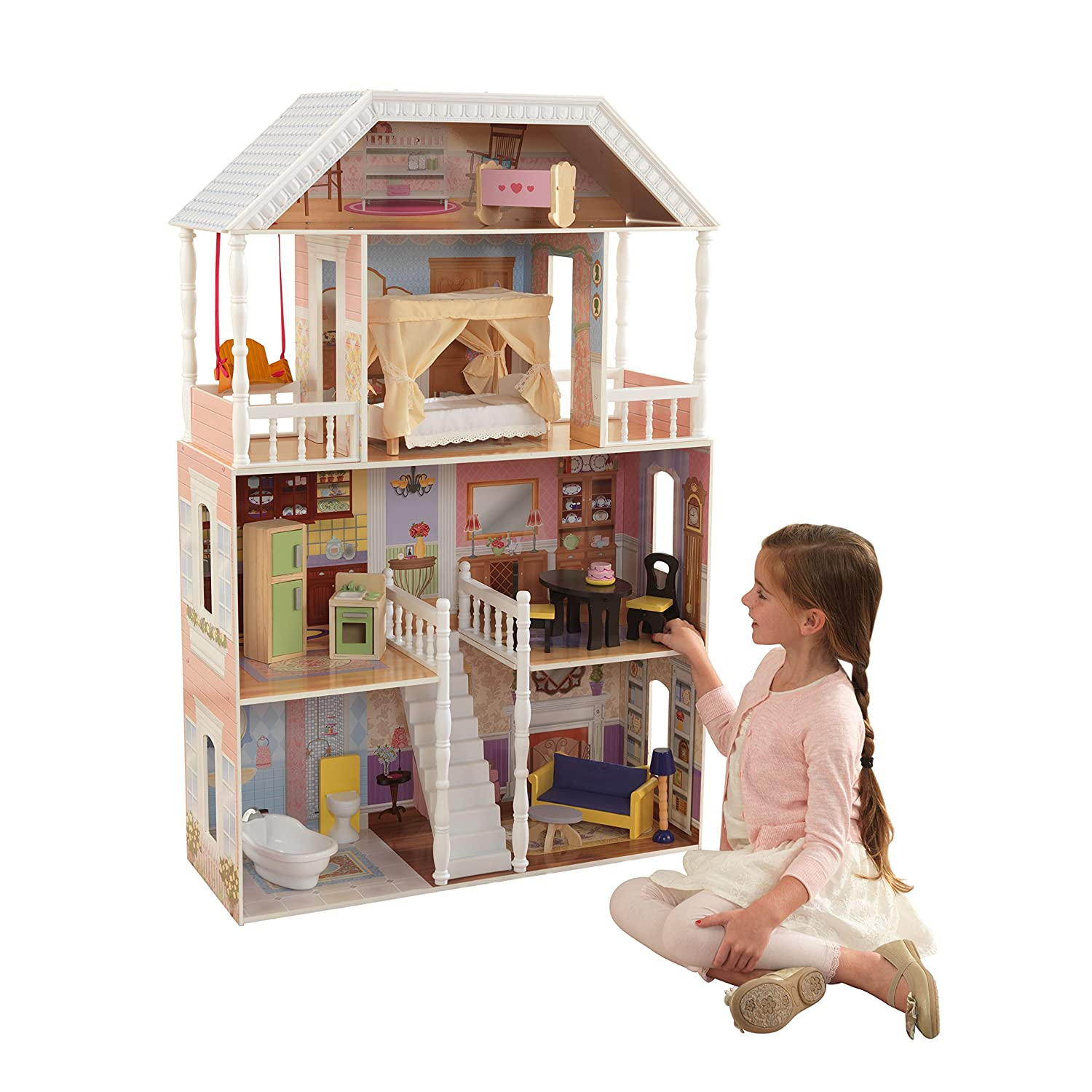 Top 9 Best Dollhouse for Toddlers Reviews in 2021 17