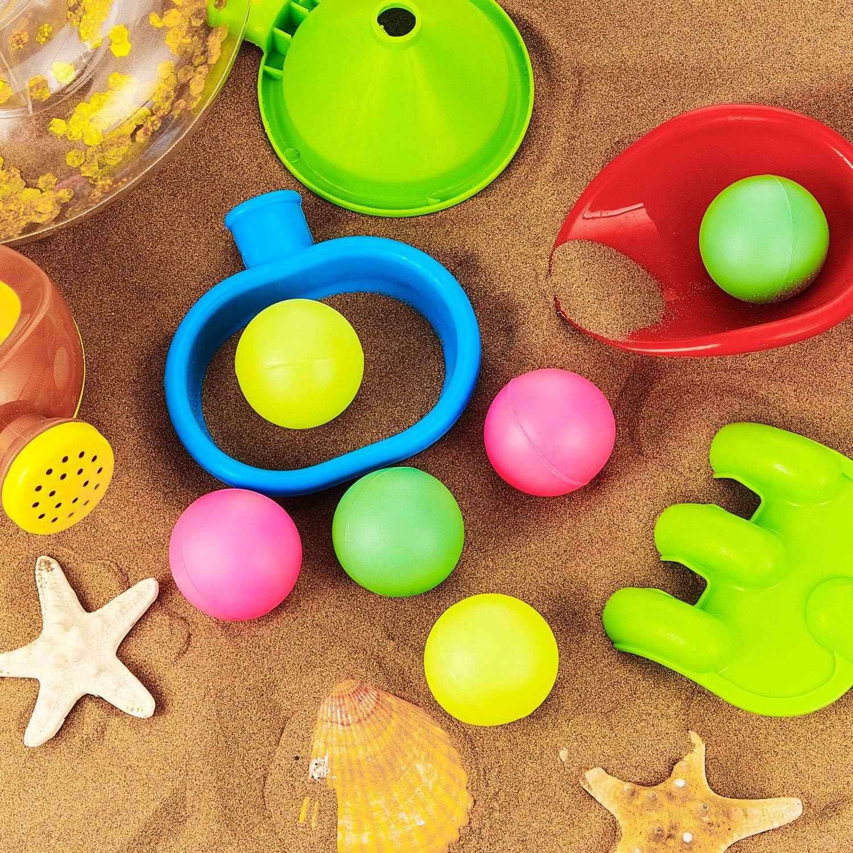 Verschiedene Farben 5 St/ücke Ersatz Strandb/älle Paddel Ersatzb/älle Zus/ätzliche B/älle f/ür Outdoor-Aktivit/äten
