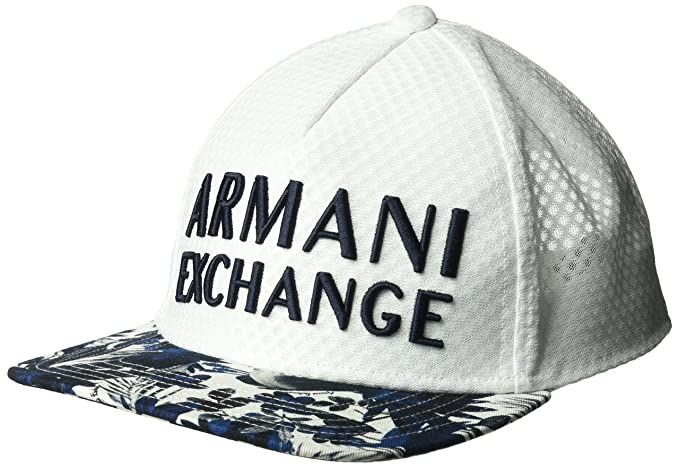 2659ee2126328 Armani Exchange Men s Tropical Palms Cap