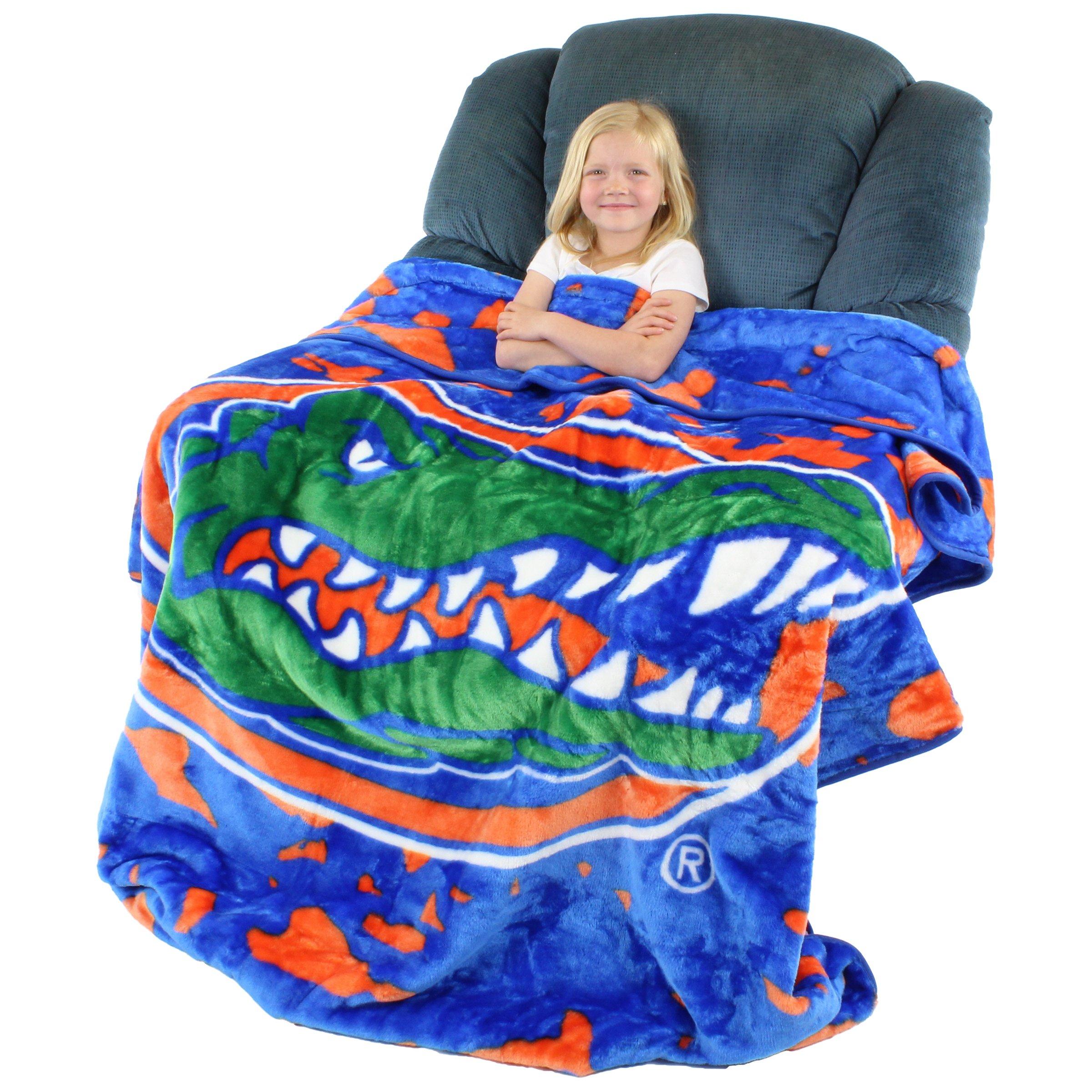 College Covers Florida Gators Throw Blanket/Bedspread
