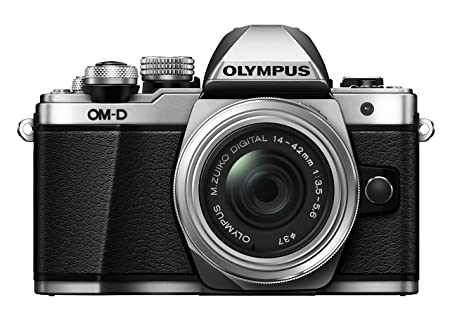 Review Olympus OM-D E-M10 Mark II Mirrorless Digital Camera with 14-42mm II R Lens (Silver)