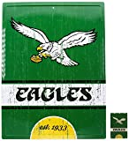 "Pro Specialties Group NFL Philadelphia Eagles 16"" x 12"" Tin Sign for Sports Fan Game Room - Bonus Magnet"