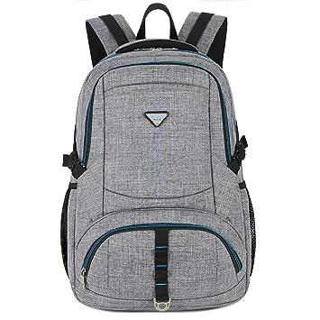 17 Pulgadas Laptop Mochila Hombre socko Resistente al Agua Viajes Mochila Business Backpack Mochila Escolar College