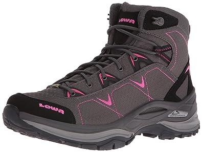 f53dcf061ee99 Lowa Women's Ferrox GTX Mid WS Hiking Boot, Anthracite/Berry, ...