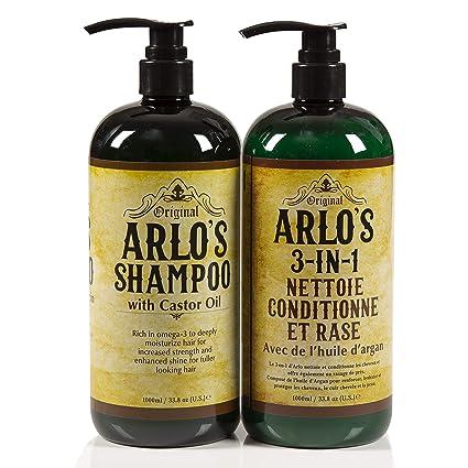 Arlos Complete Hair Care Aceite de ricino 2 piezas Set ...