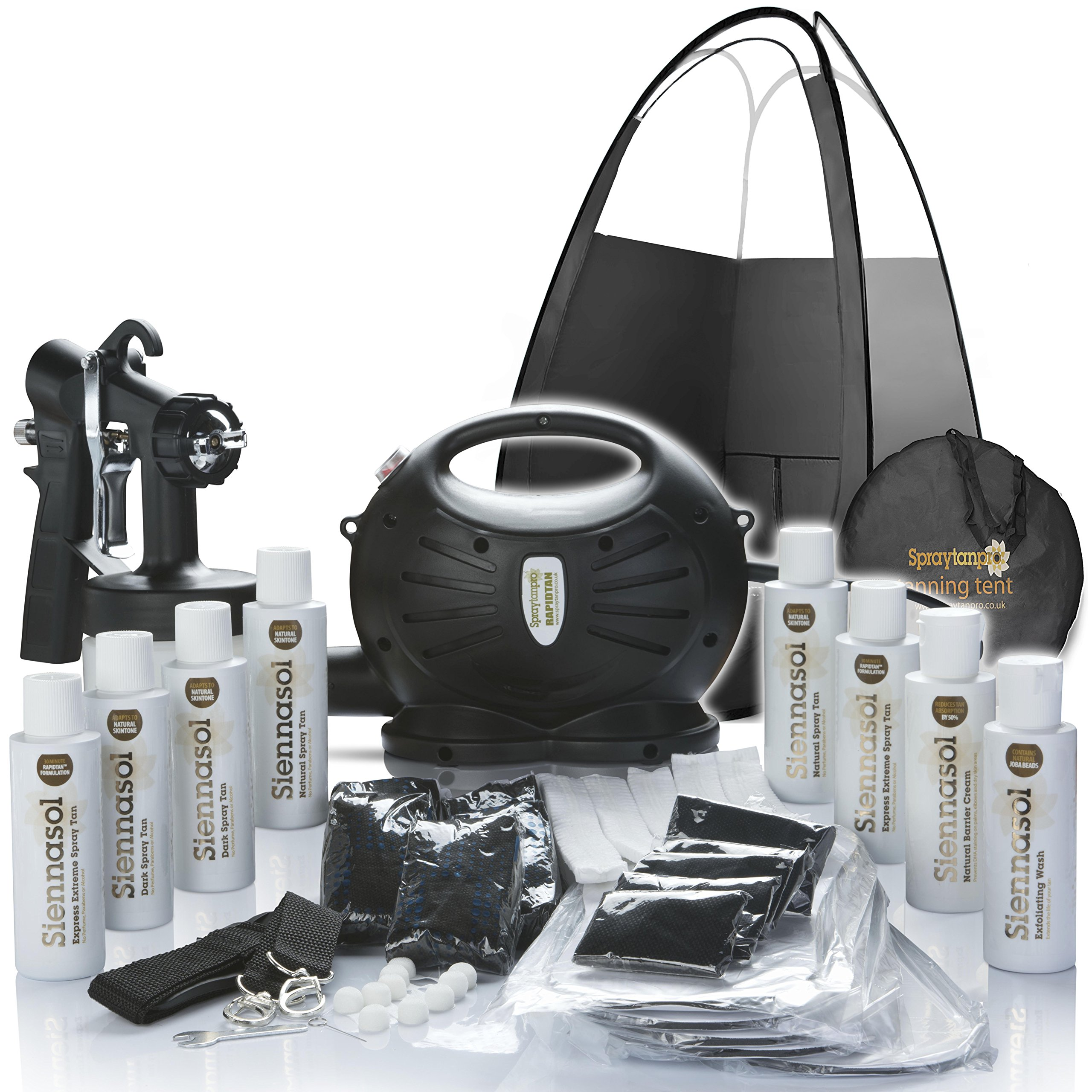 Rapidtan HVLP Airbrush Spray Tan Kit