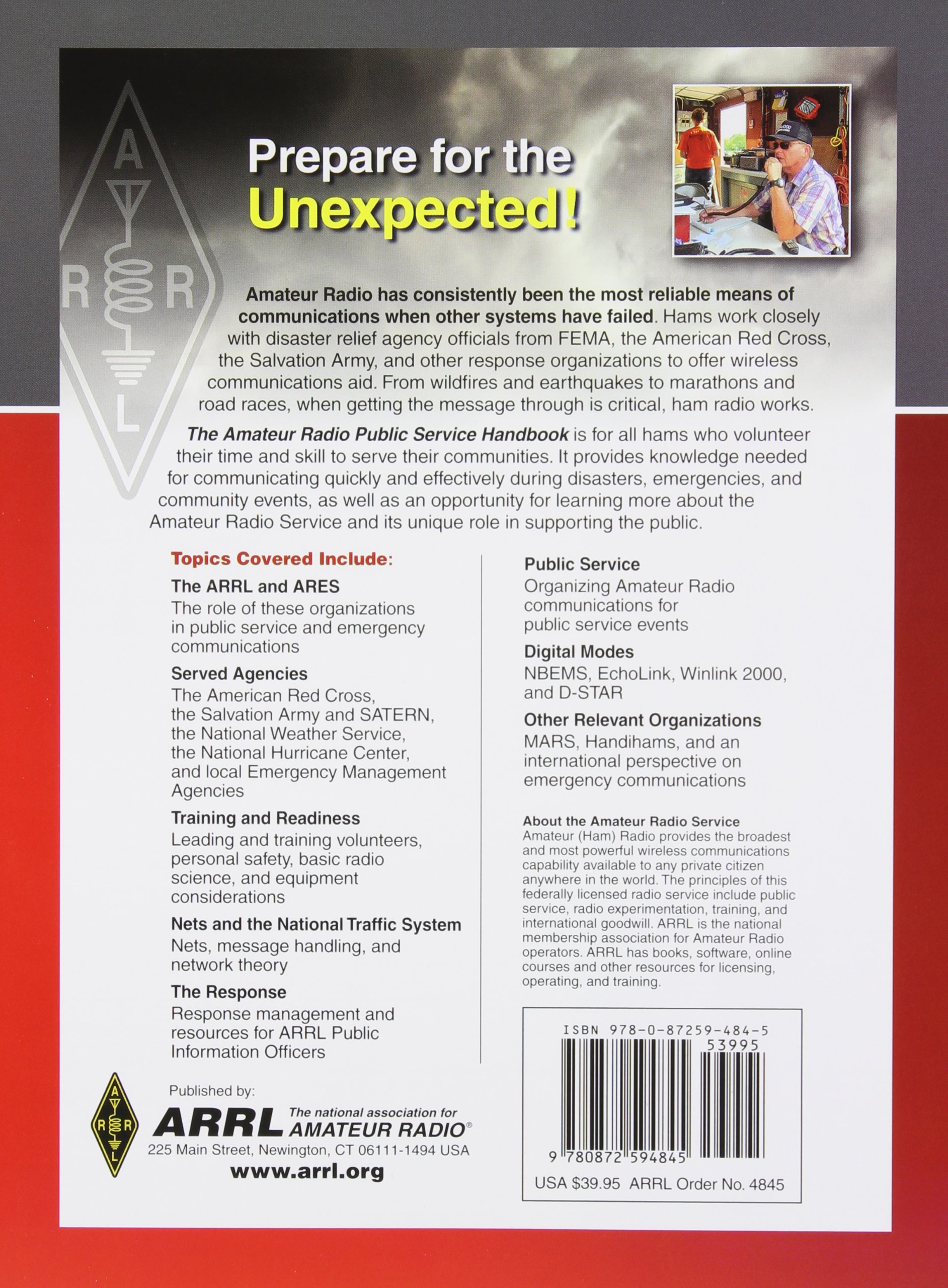 The Amateur Radio Public Service Handbook: ARRL Inc
