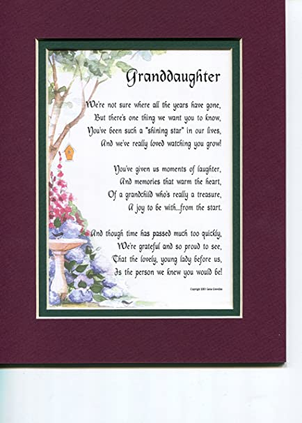 Amazon Gift Poem 13th 16th 18th 21st 30th Birthday Present For