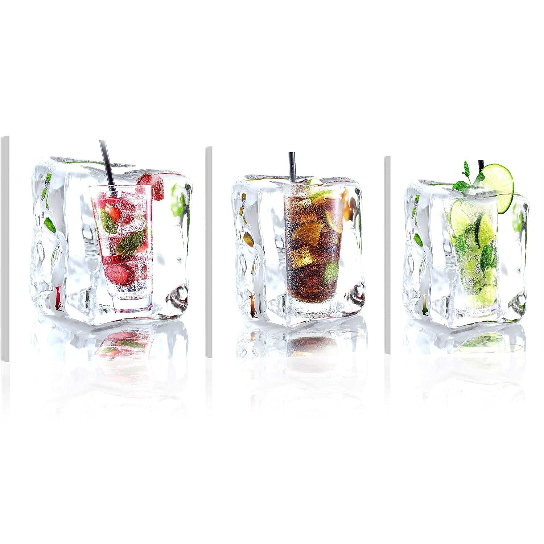 murando - Acrylglasbild Drink 120x40 cm - Glasbilder - Wandbilder ...