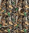 Realtree Camo Deer Camoflage Hunting Fleece Fabric by the yard a1427s
