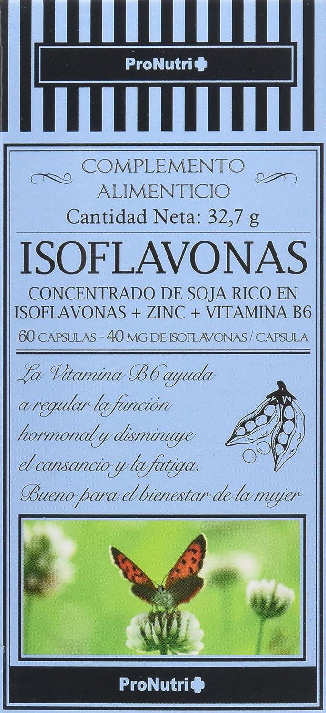 ProNutri Isoflavona - 2 Paquetes de 60 Cápsulas: Amazon.es: Salud y cuidado personal