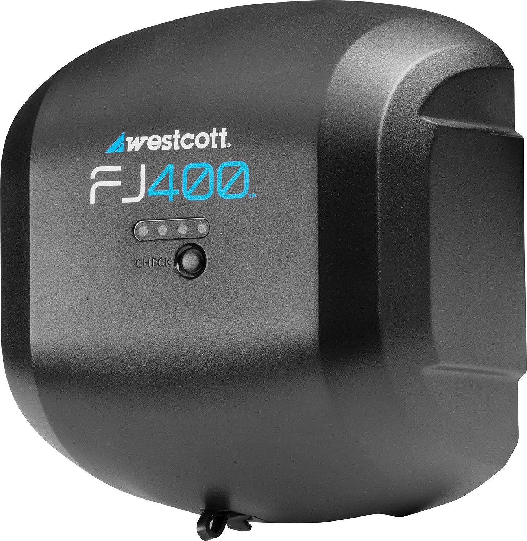 Westcott Luz Estroboscópica FJ400 400Ws con AC//DC Batería de 2 Luz Mochila Kit