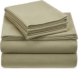 Pinzon Juego de sábanas de franela de terciopelo, 190 gramos