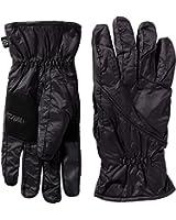 Isotoner Men's SleekHeat smarTouch Packable Gloves