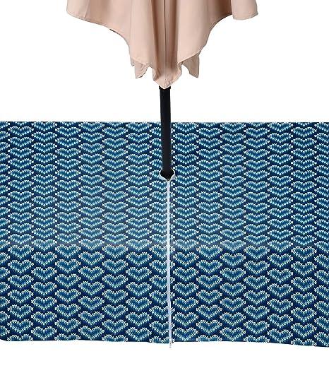 Amazon.com: Tela textil productos punto de cruz azul ...