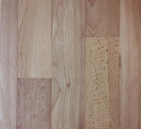 PVC-Belag verf/ügbar in der Breite 2 m /& in der L/änge 3,5 m PVC Vinyl-Bodenbelag in rustikaler Holzoptik Schwarz//Anthrazit CV-Boden wird in ben/ötigter Gr/ö/ße als Meterware geliefert