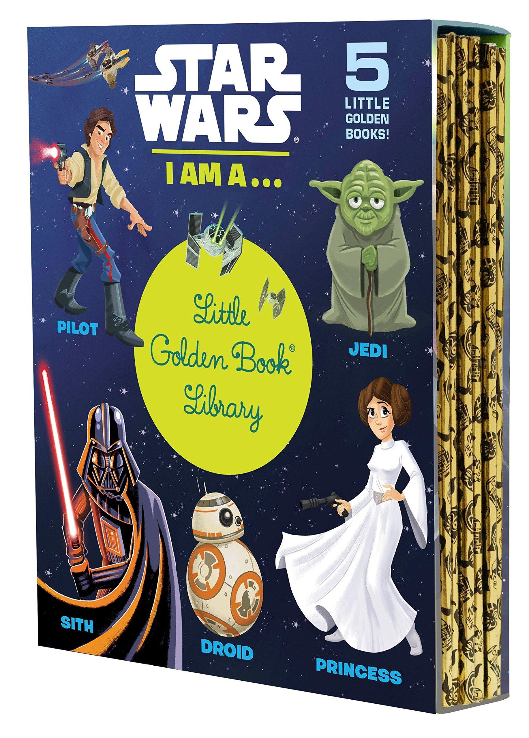 Star Wars: I Am a...Little Golden Book Library (Star Wars): Various, Golden  Books: 9780736436380: Amazon.com: Books