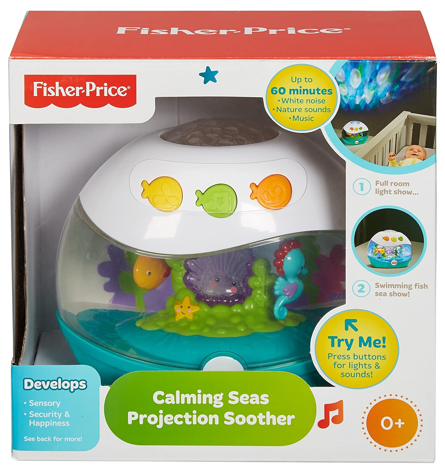 Amazon Fisher Price Calming Seas Projection Soother Baby