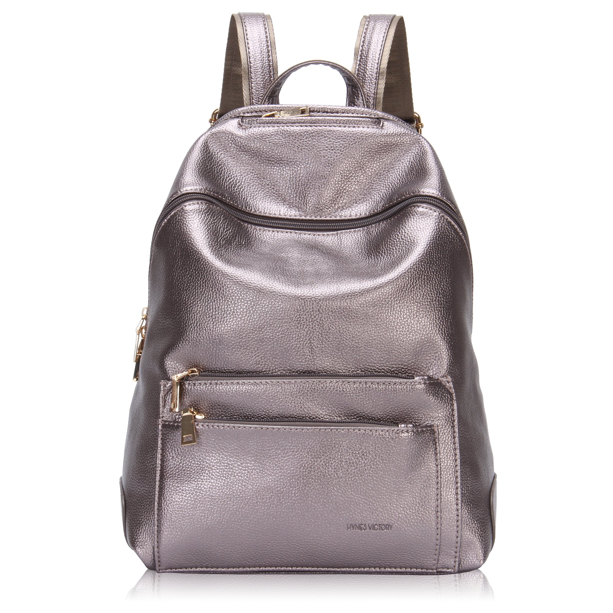 Hynes Victory Faux Leather Backpack for Women Dressy Campus ...