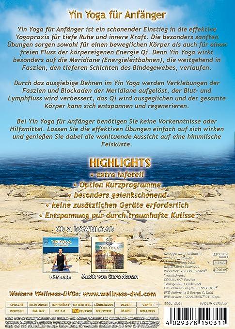 Yin Yoga für Anfänger - Sanfte Übungen für Meridiane und Faszien ...