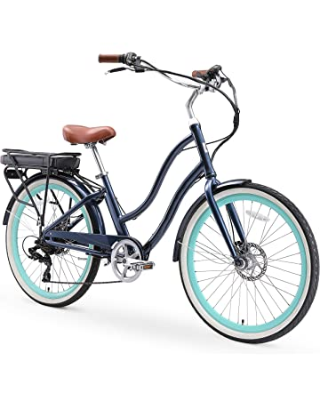 1a065cac25b sixthreezero EVRYjourney Women's Step-Through Hybrid Cruiser Bicycle  (24-Inch and 26-
