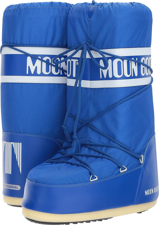 Tecnica Unisex Moon Nylon Fashion Boot B06XCPB9BD 39-41 M EU|Electric Blue