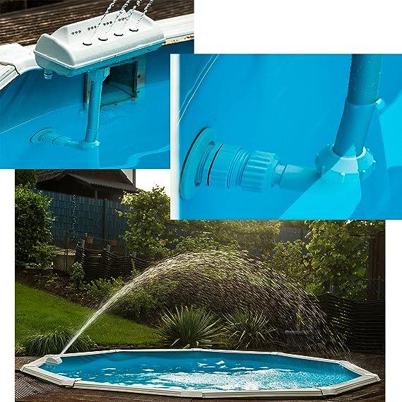sl247 Pool LED Agua Fuente Piscina Iluminación universal conector ...